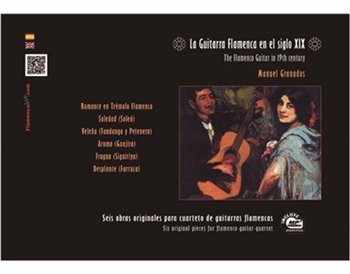 La Guitarra Flamenca en el Siglo XIX (Libro/CD en MP3)