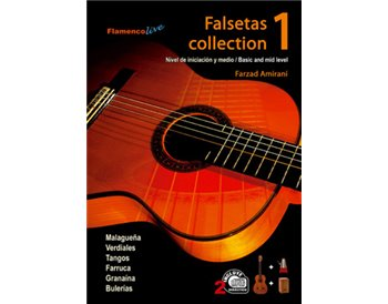 Falsetas collection V. 1 Libros de partituras + 2 CDs