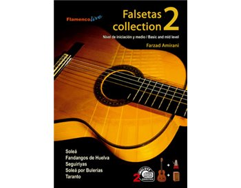 Falsetas collection V. 2 Libros de partituras + 2 CDs