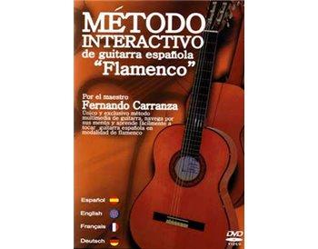 Método interactivo de guitarra Española. Flamenco en DVD