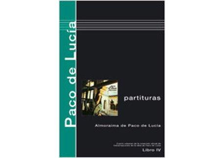 Libros de partituras de Paco de Lucía Almoraima