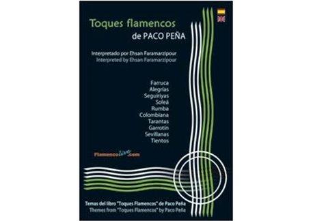 Libro de partituras - Toques Flamencos