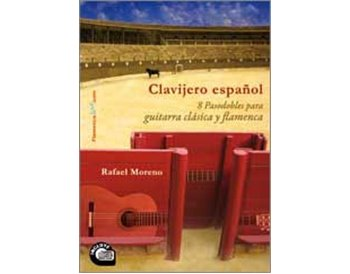 Libro/CD Clavijero español (8 pasodobles a la guitarra)