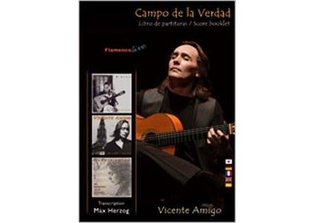 Libros de partituras de Vicente Amigo Campo de la Verdad