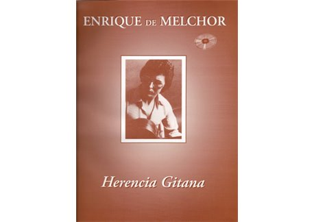 Herencia Gitana. partituras + cd