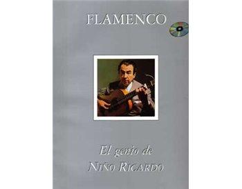 Flamenco. El genio de Niño Ricardo. Incluye CD ( Partituras)