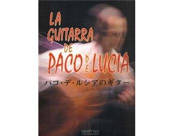 La guitarra de Paco de Lucía. (Partituras)