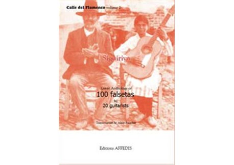 Antología de Siguiriya - 100 falsetas by 20 guitarists
