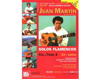 Estudios de Guitarra flamenca - Vol 2 . Libro + cd + dvd