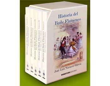 Historia del Baile Flamenco. Pack 5 volúmenes