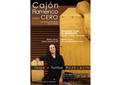 Cajón flamenco desde cero - dvd