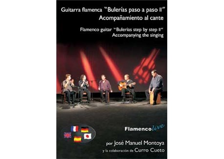 La Guitarra Flamenca paso a paso. Acomp al cante por buleria