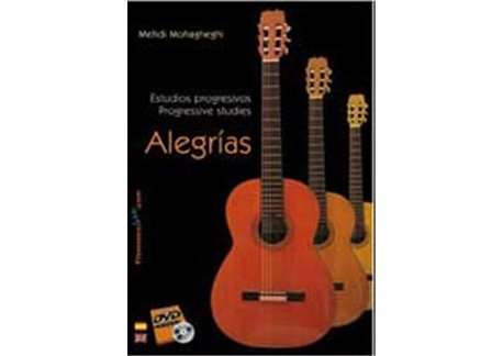 Estudios progresivos para Guitarra Flamenca V. 4 Alegrías