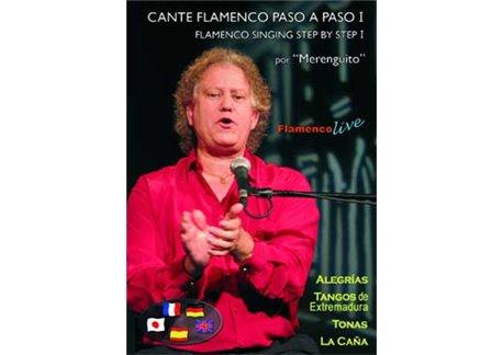 DVD Cante Flamenco Paso a Paso - NTSC/PAL