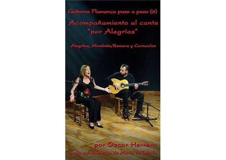 La Guitarra Flamenca paso a paso (IX). Por Alegrías III dvd