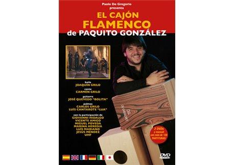 The flamenco cajón by Paquito González 2DVD + book