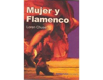 Mujer y Flamenco.