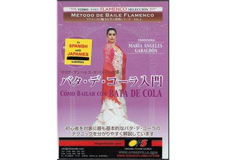 Método de baile flamenco v 4.  Como bailar con bata de cola