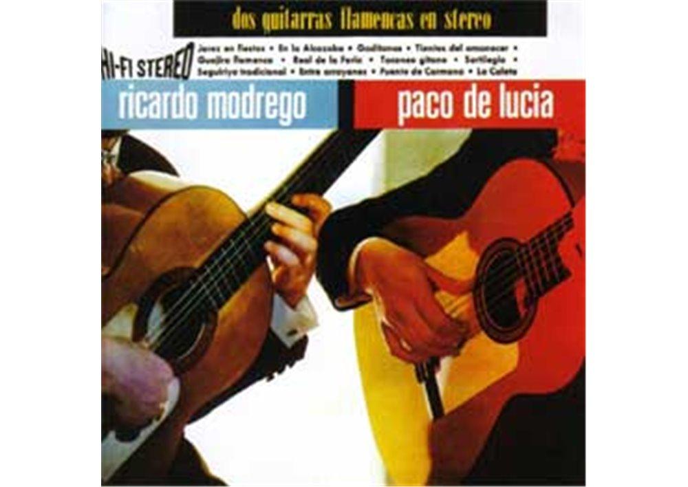 Ricardo Modrego Paco De Lucia Dos Guitarras Flamencas En Stereo
