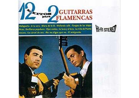 con Los 7 de Andalucía. 12 Exitos para 2 guitarras flamencas