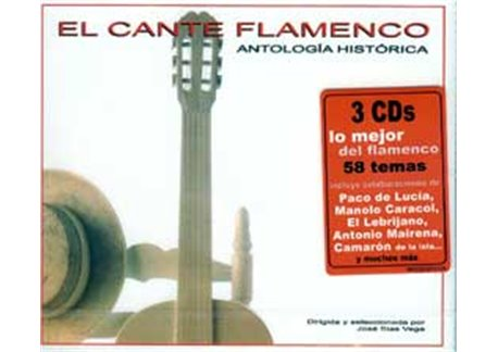 El Cante Flamenco. Antología Histórica. 3 CD