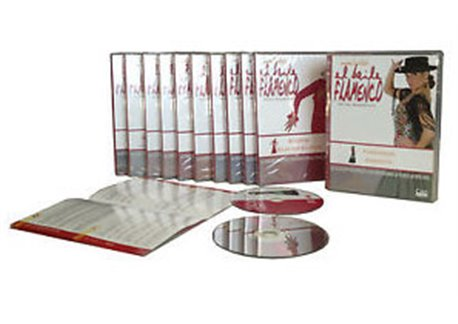 El Baile Flamenco. Nivel avanzado. 11 DVD + 11 CD