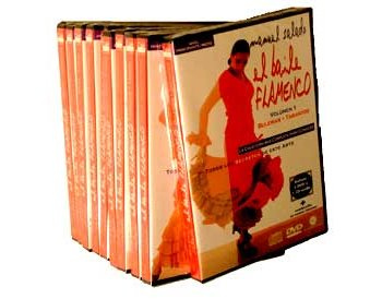El Baile Flamenco. COLECCION COMPLETA. 10 DVD +10 CD