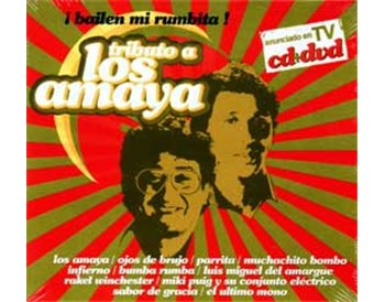 Tributo a Los Amaya CD+DVD