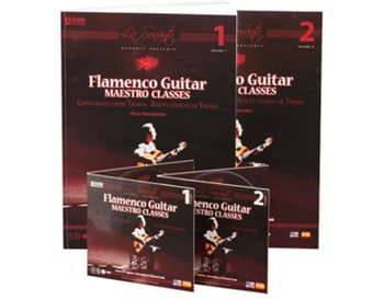 Flamenco Guitar Maestro classes. V.1&2 (book 1&2  DVD 1&2 )
