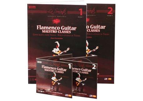 Flamenco Guitar Maestro classes. V.1&2 (book 1&2  DVD 1&2 )