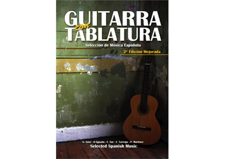 Guitarra con Tablatura. Selección de música española. 2ª edi