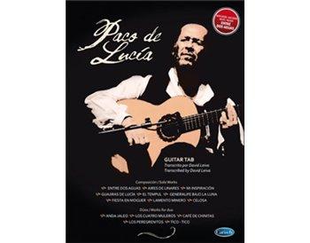 Paco de Lucía guitar tab, antologhy. libro