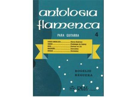 ANTOLOGIA FLAMENCA PARA GUITARRA VOL 4