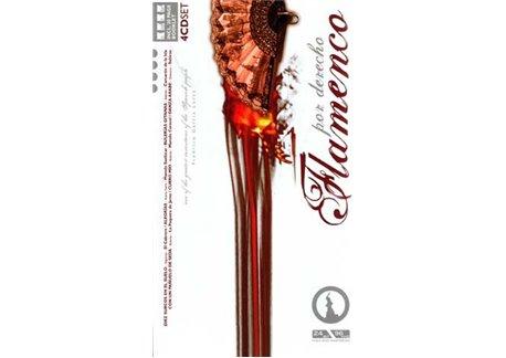 Flamenco por derecho 4cd. Libro-CDs
