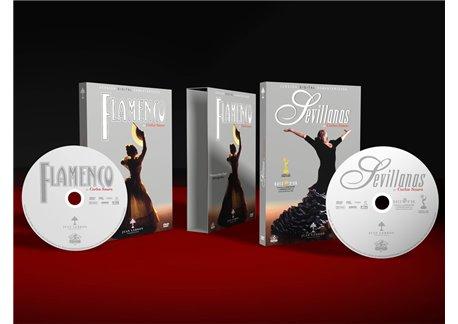 Carlos Saura. Flamenco + Sevillanas. 2 DVD PAL