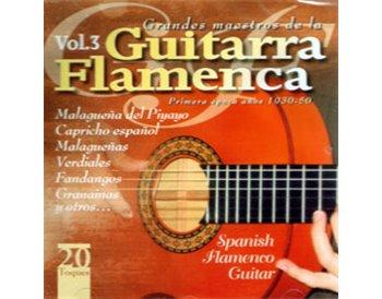 Grandes Maestros de la Guitarra Flamenca v.3