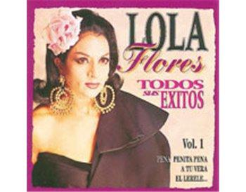 LOLA Flores. Todos sus éxitos. 3 cd