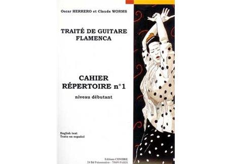 Traité de guitare flamenca. Cahier Répertoire nº 1.