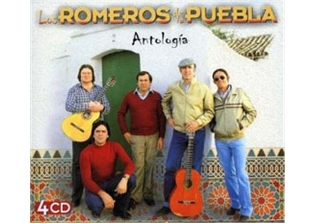 Antología (4 CDs) - Sevillanas