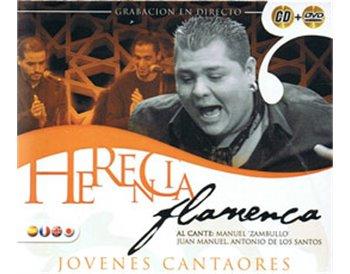 Jovenes cantaores. Manuel Zambullo, Juan manuel, Antonio ..