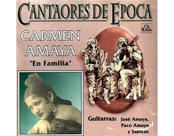 El cante flamenco de CARMEN AMAYA En familia
