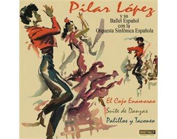 Pilar López y su ballet español con la orquesta sinfonica es