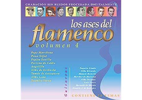 Los ases del flamenco v. 4