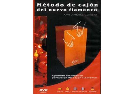 Método de cajón del nuevo flamenco. DVD.