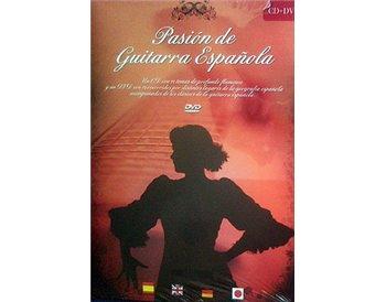 Pasión de Guitarra Española CD + DVD