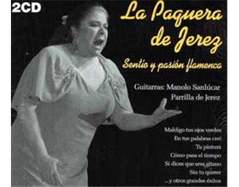Sentío y pasión flamenca