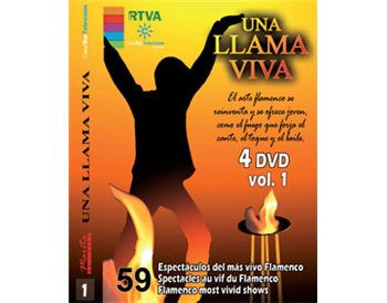 Serie RTVA . Una llama viva. 4 DVD vol. 1