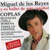 Miguel de los Reyes y su ballet de arte español.