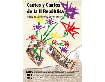 Cantes y cantos de la II República. Book + 2 cd