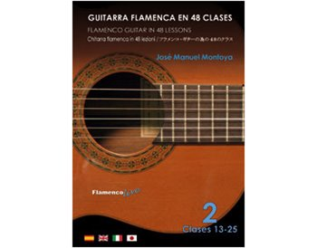 Flamenco Guitar in 48 lessons V. 2 (dvd + libreto)